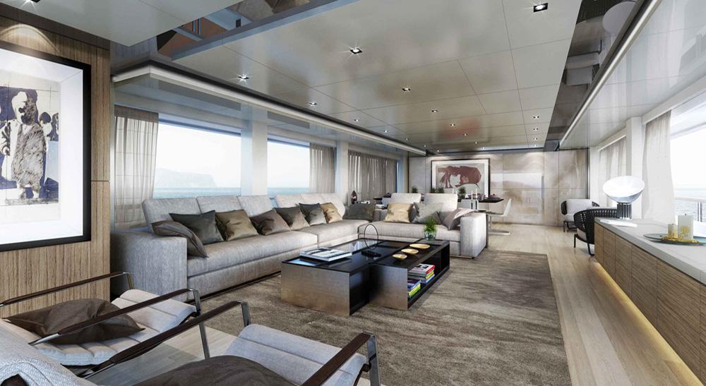 Navetta 37 by custom line top yacht design for Interior design recruitment agency dubai