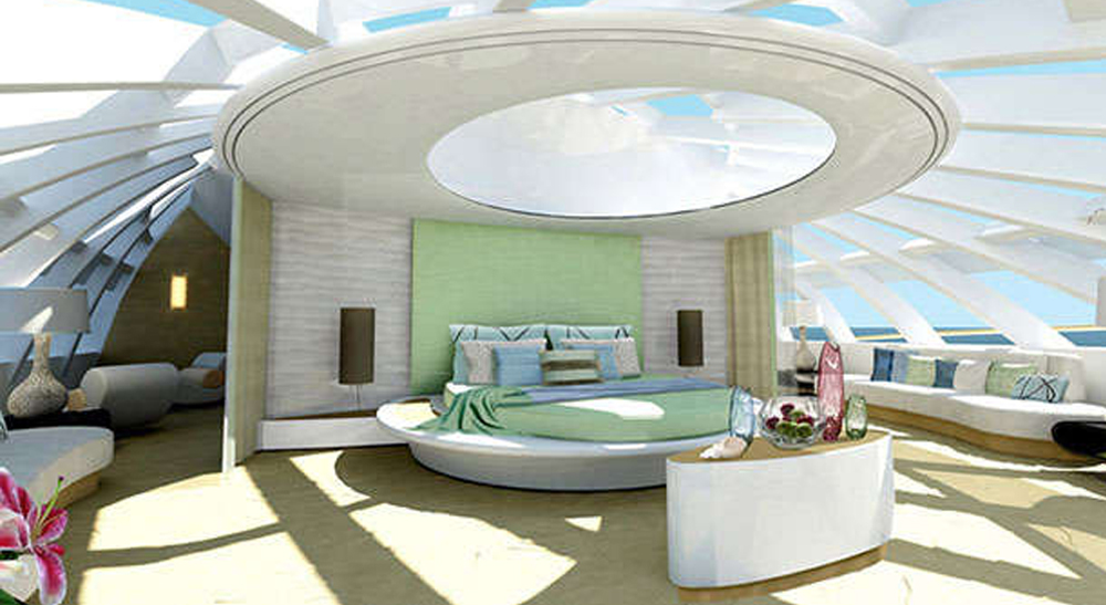 Art Line Yacht Interior Design : Greenline yas transparency top yacht design