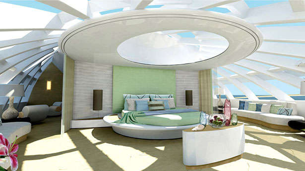 Greenline Yas Transparency Top Yacht Design