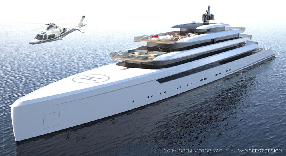 Art Line Yacht Design : A wonderfully spacious yacht from van geest design top