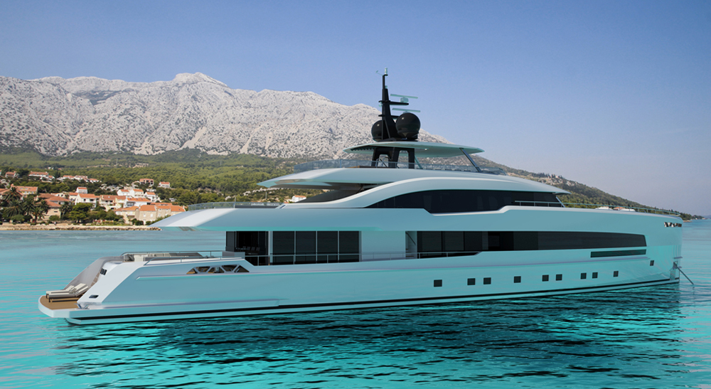 This is Yara – 48 metre from ISA Yachts - Top Yacht Design