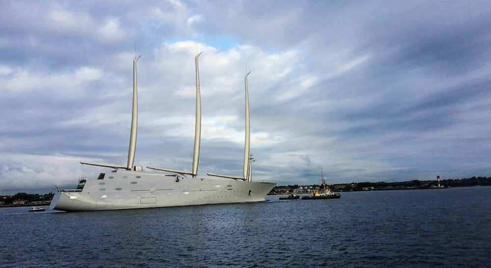 White Pearl The World S Largest Sailing Yacht Top Yacht Design