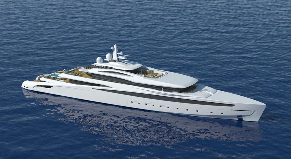 Grandi spazi e razionalit nel loro utilizzo per l a470 di for Il canotto a bordo degli yacht