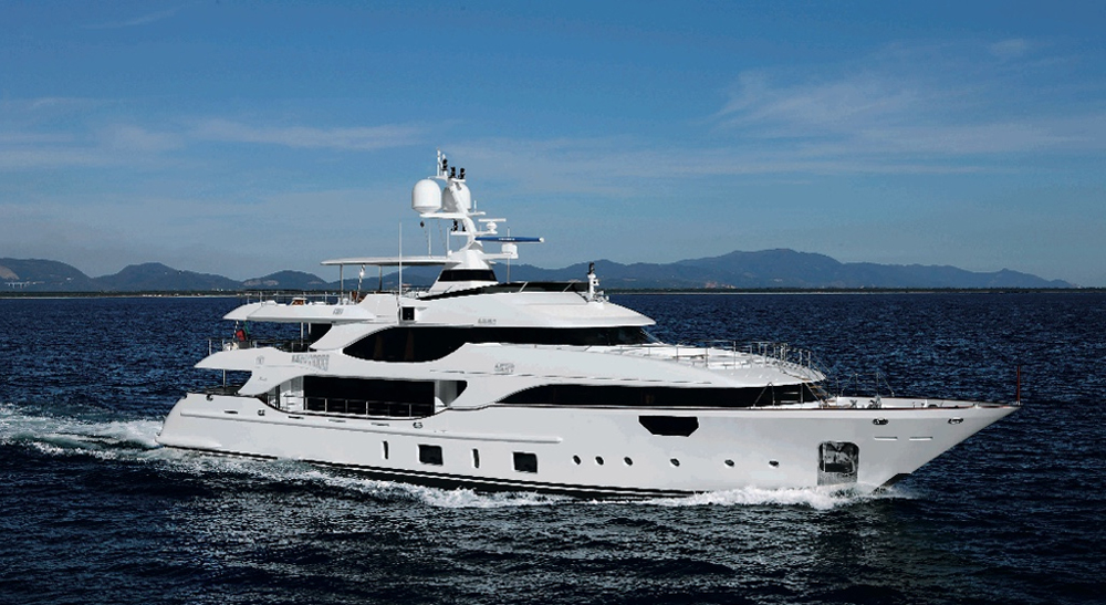 Benetti Crystal at Miami Boat Show