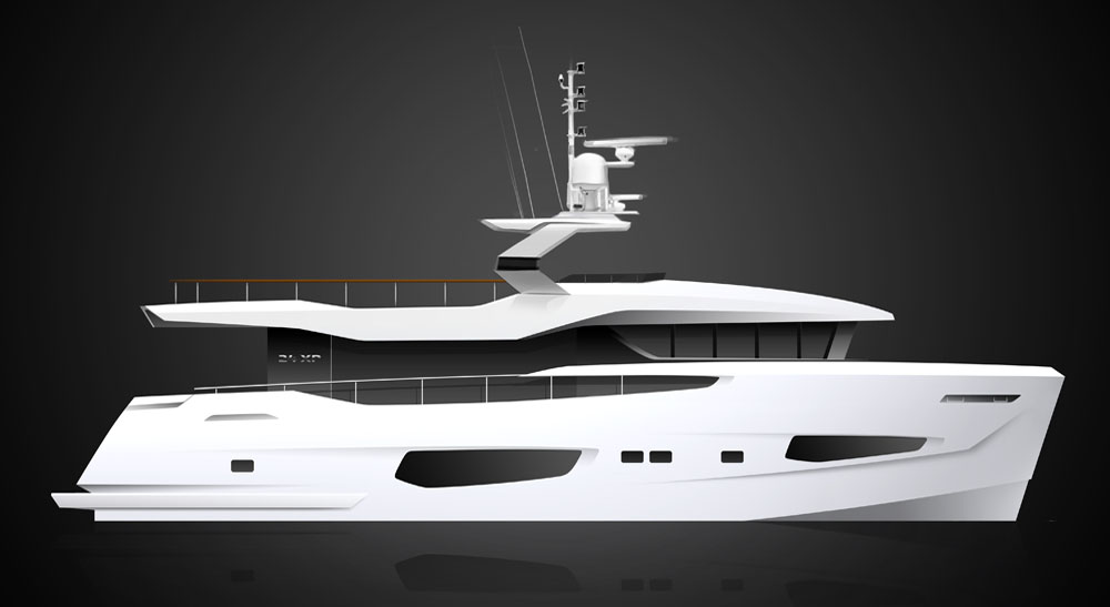 Numarine 24XP Hull1 sold