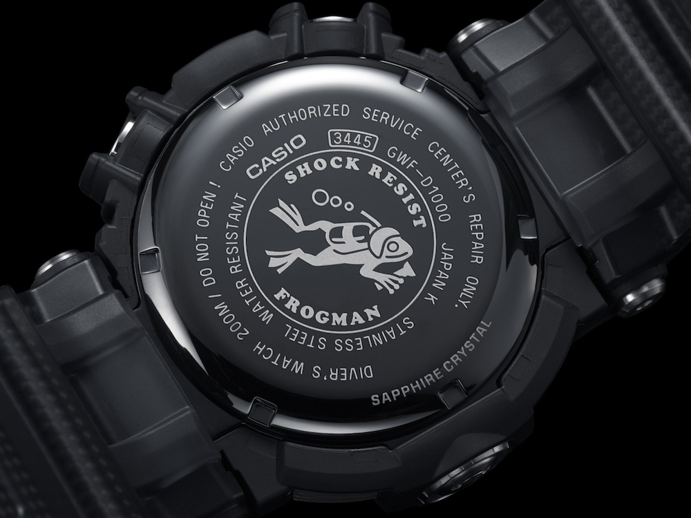 Casio to Release First G-SHOCK FROGMAN with Water Depth ...