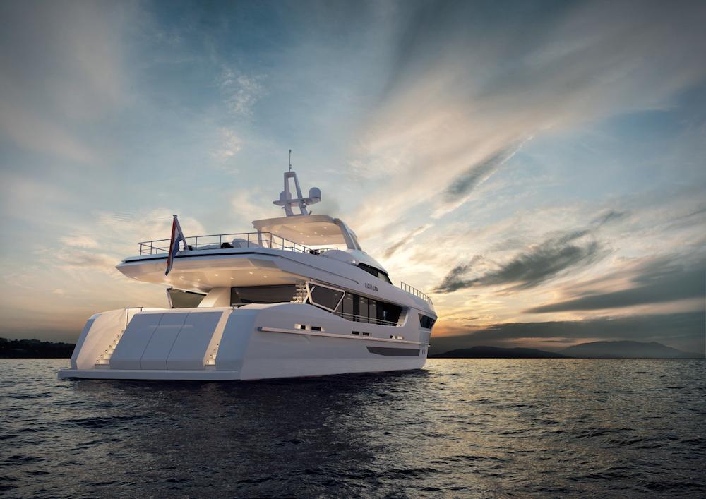 hot lab firma il 38 metri nina per heesen yachts top yacht design. Black Bedroom Furniture Sets. Home Design Ideas