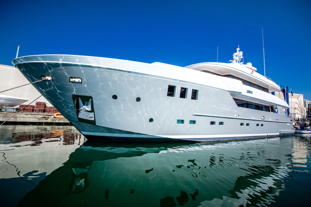 NEW OTAM CUSTOM RANGE 35m M/Y GIPSY WORLD PREMIERE AT MONACO YACHT SHOW 2016
