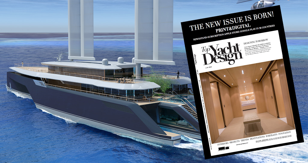 Discover the new issue of Top Yacht Design