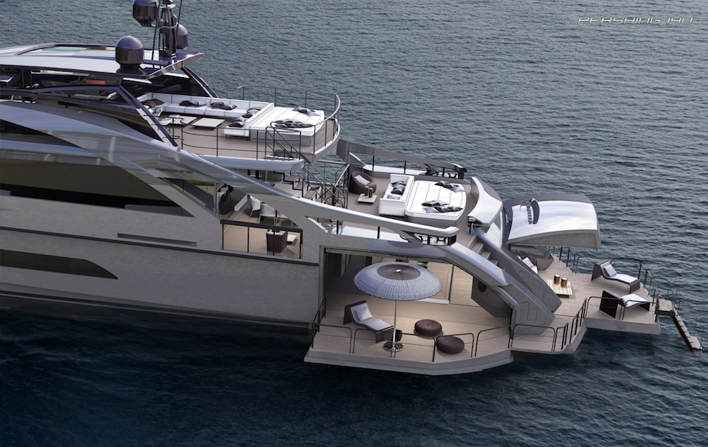 Pershing 140 The Market Is Already Excited About It Top Yacht Design