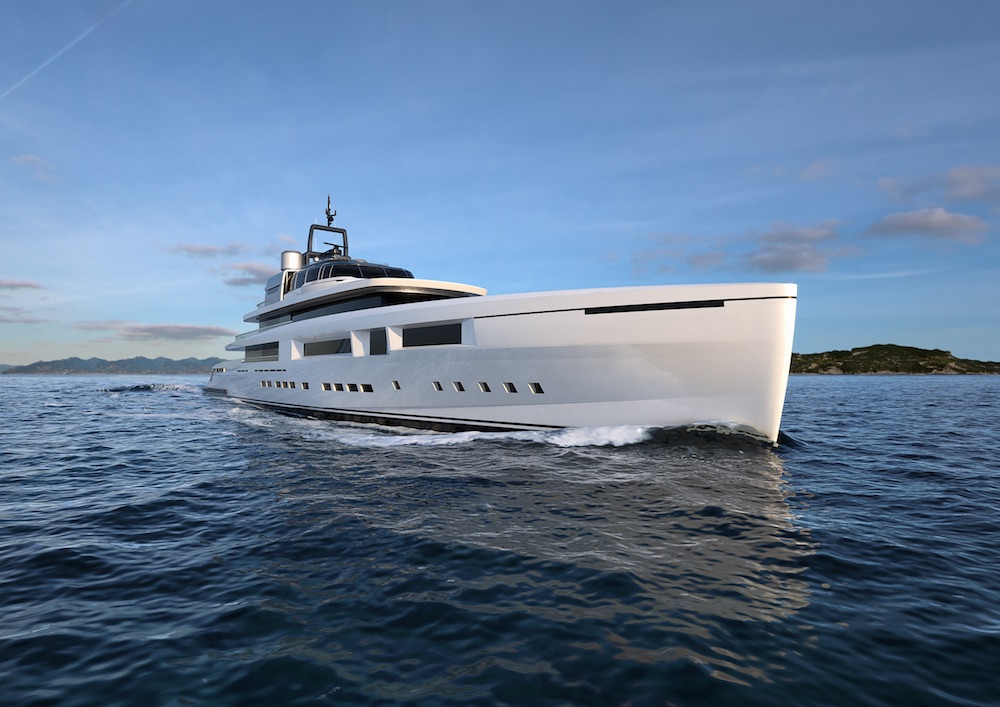 Mondomarine's new project: M70 Arte