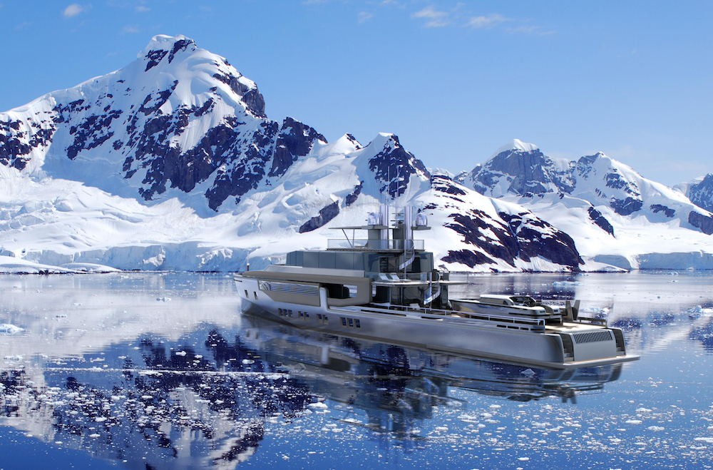 Rossi Navi has unveiled Project Argo, the multi-talented 48 m explorer yacht penned by Ken Freivokh