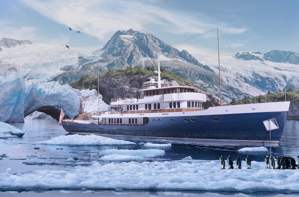 A new excting 56 metre explorer project for Turquoise Yachts