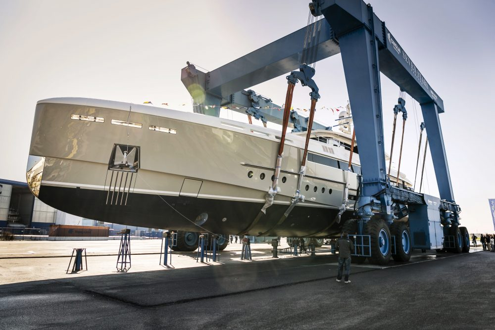 Rossinavi launches 50m M/Y Endeavour II