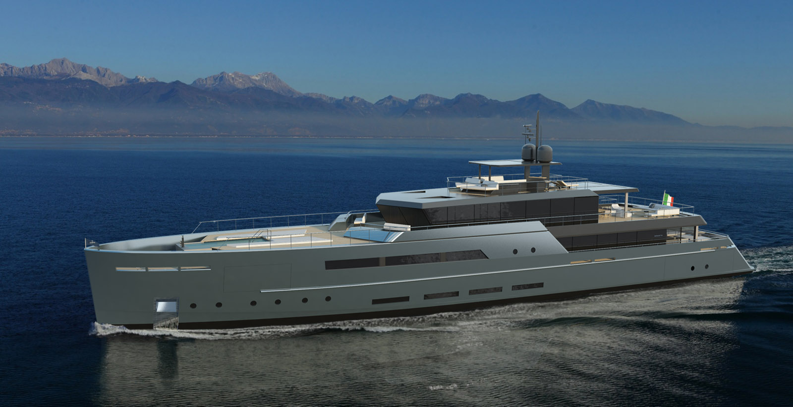 Baglietto introduces a new 55M project by Santa Maria Magnolfi