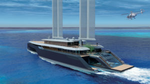Superyacht trimaran Komorebi by VPLP Design (4)