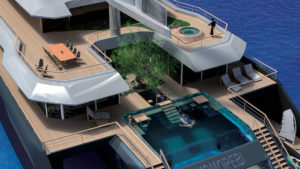 Superyacht trimaran Komorebi by VPLP Design (5)