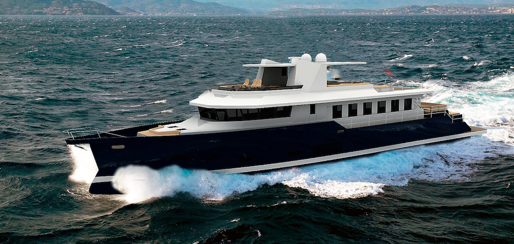 The Navetta 100 by Vismara Marine