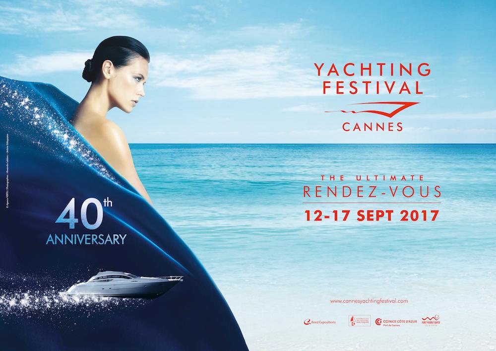 Il Cannes Yachting Festival festeggia i 40 anni