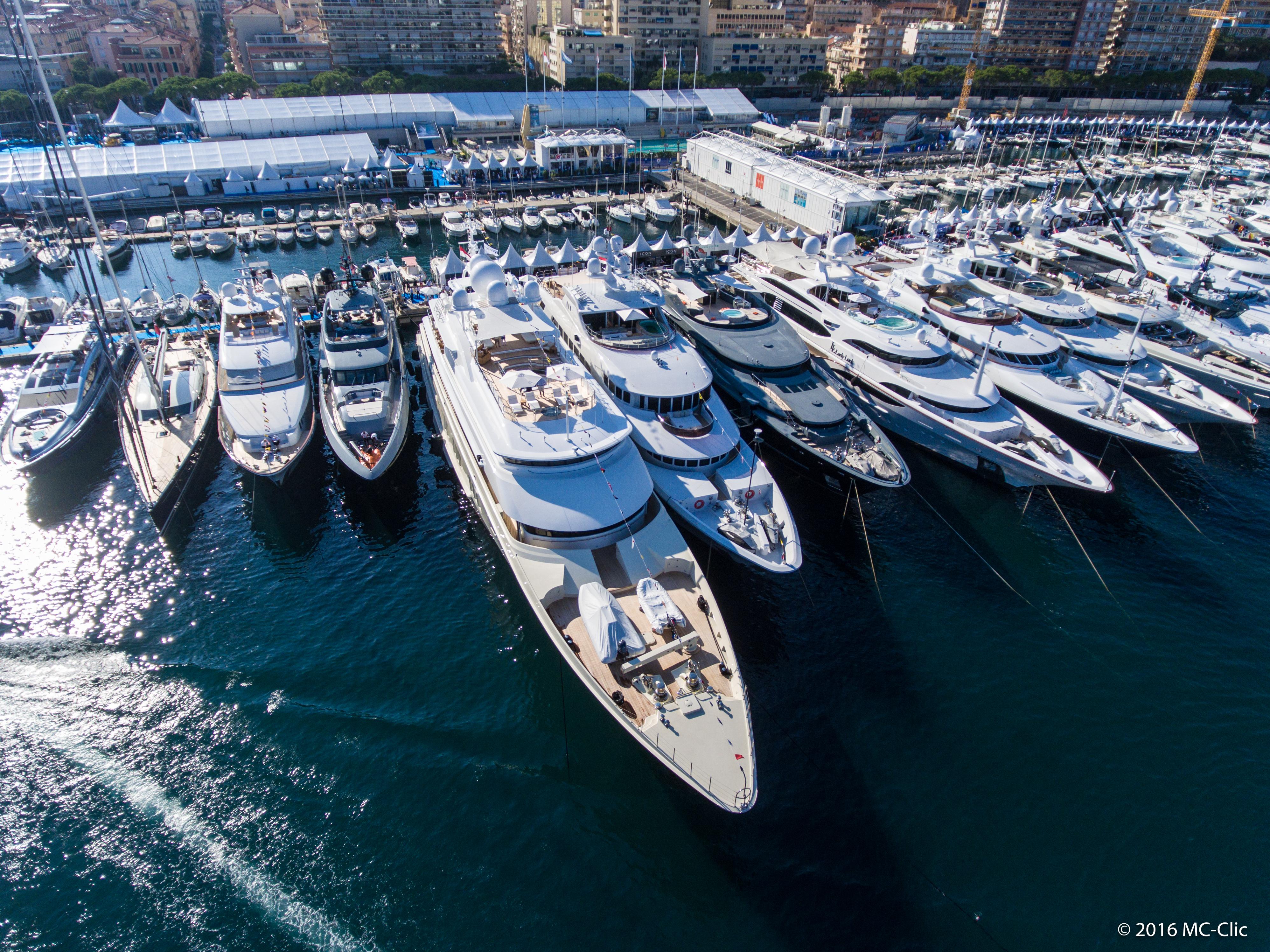 Monaco Yacht Show's top 18