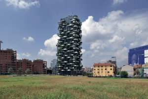 The Bosco Verticale photo: Paolo Rosselli