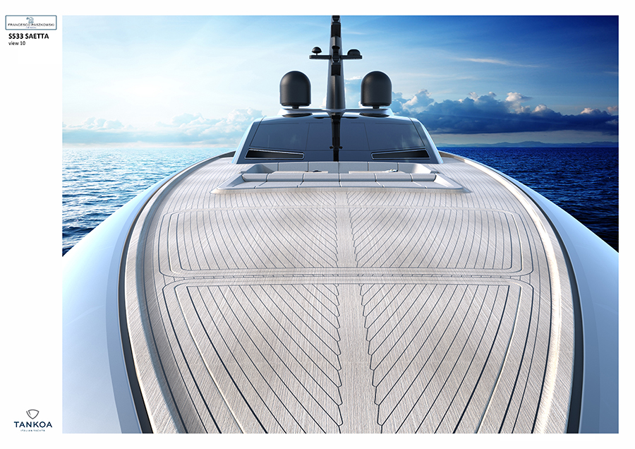 Tankoa Yachts presents the new s533 Saetta