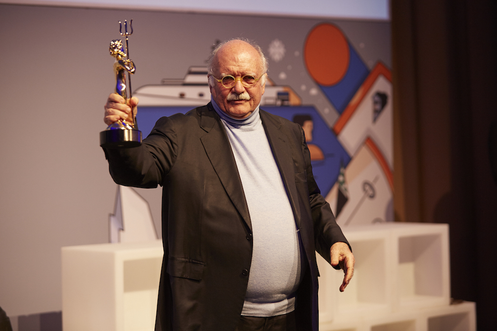 Gianni Zuccon won the lifetime achievement award