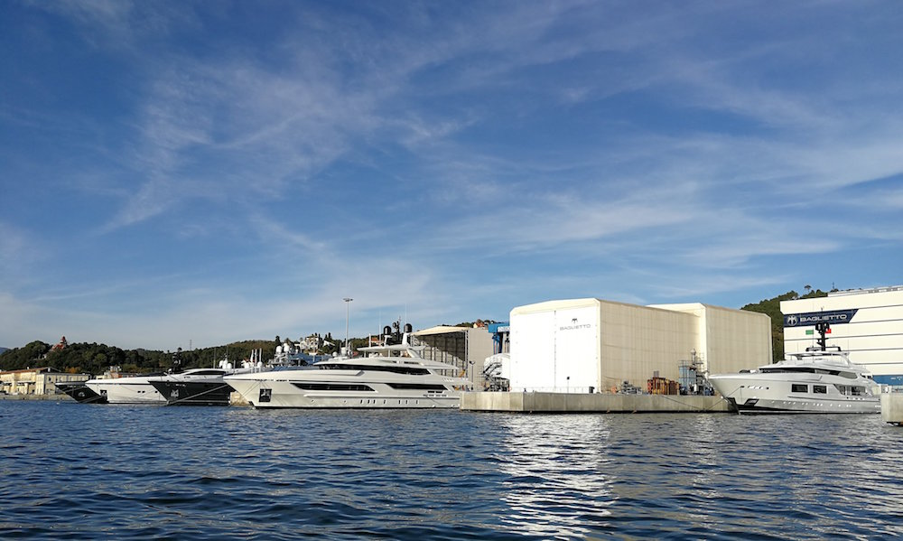 New 40 m yacht order for Baglietto