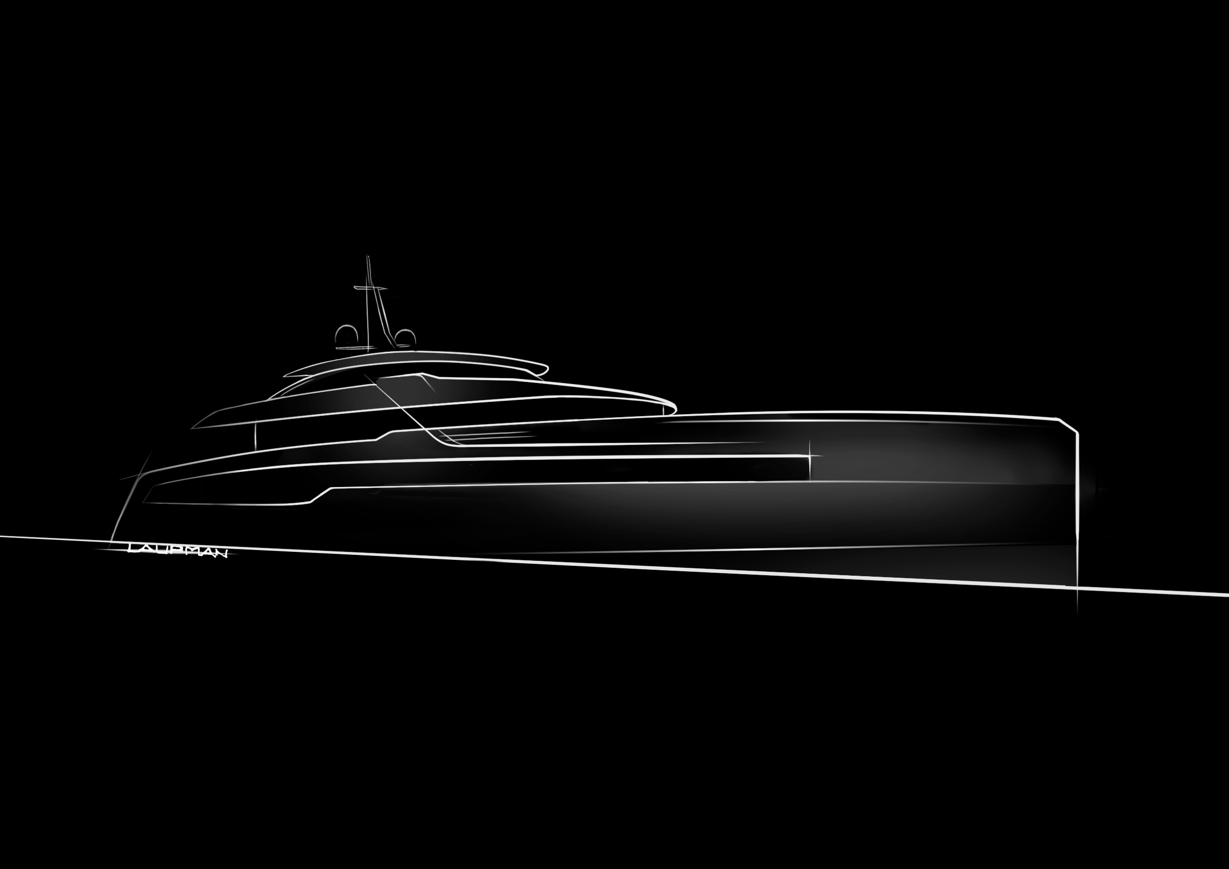 Crn to build a new 62-metre mega yacht Designed by Omega Architects