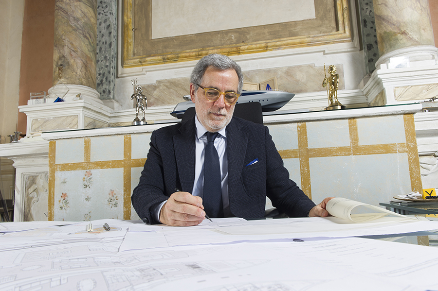 Tommaso Spadolini: 40 years of passion, hard work and success in yacht design