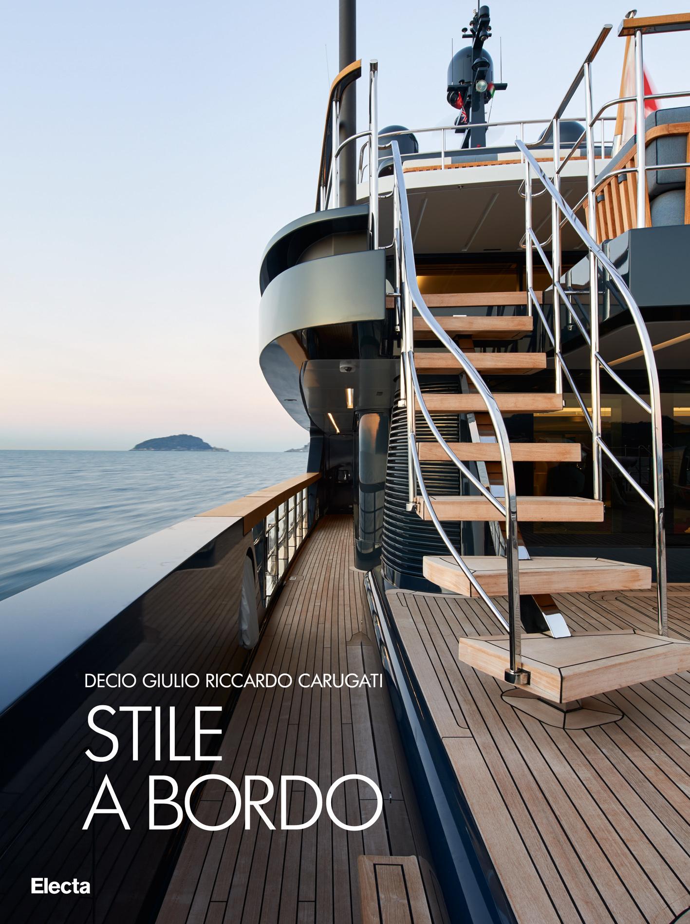 Stile a bordo, il nuovo libro di Sanlorenzo