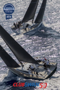 Mathilde, Sail n: SUI5004, Nat: SUI, Owner: Morten H Kielland, Class: ClubSwan 50 Ravenger, Sail n: SWE5015, Nat: SWE, Class: ClubSwan 50