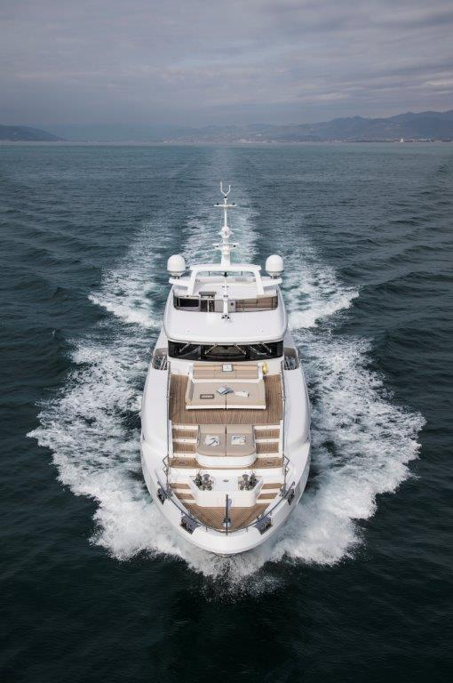 Delivered the first Benetti Delfino 95'