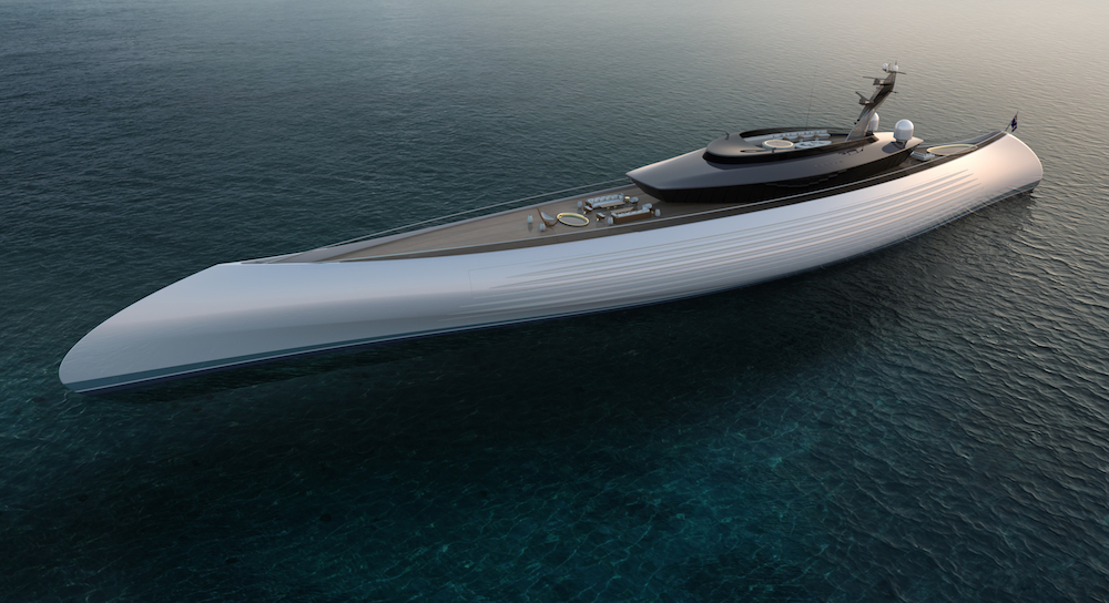 Oceanco unveils the new 115-meter Tuhura at the Dubai International boat show