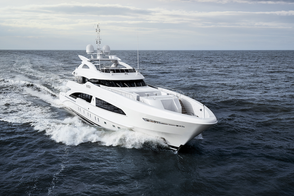 Heesen delivers YN 18050 VanTom, the latest yacht in the 5000 Aluminium class!