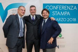 Paolo Borgio, Fabrizio Curci e Lamberto Tacoli