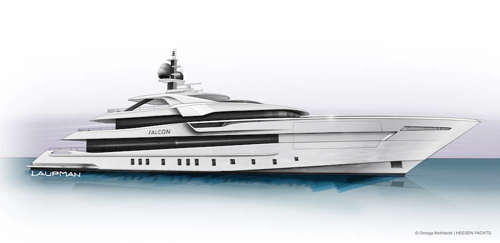 Heesen vende Project Falcon