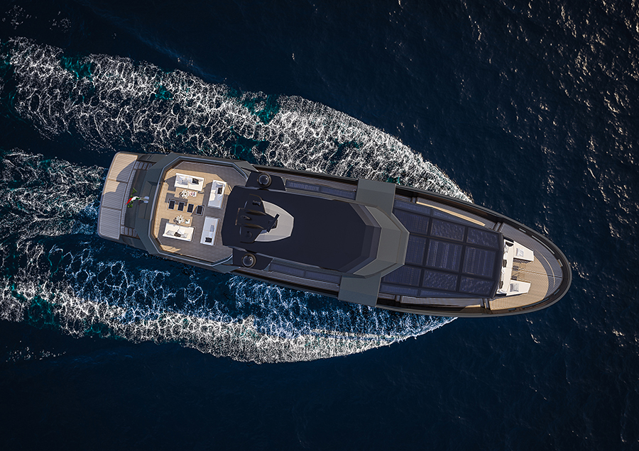 Arcadia Yachts confirms the sale of a new A105