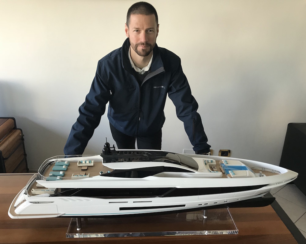 Ivan Adzic is the new Mangusta area manager for France