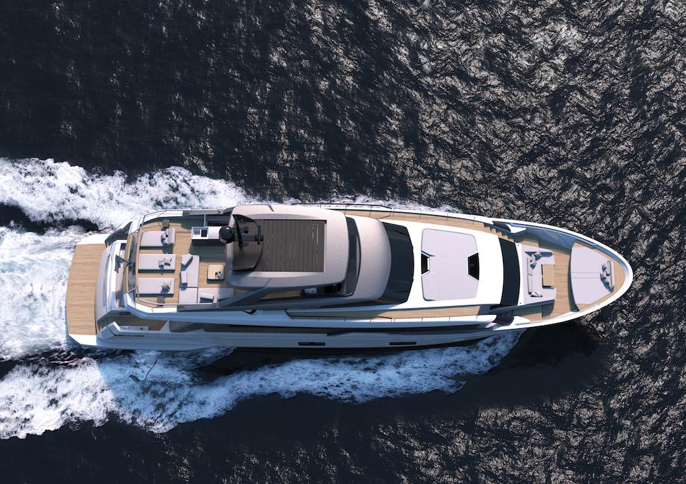 Sanlorenzo SL102: il primo motoryacht asimmetrico al mondo