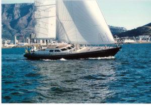 Il SW72 Aga Jari, la barca dell'ingegner Willy Persico che ha dato il via alla storia Southern Wind