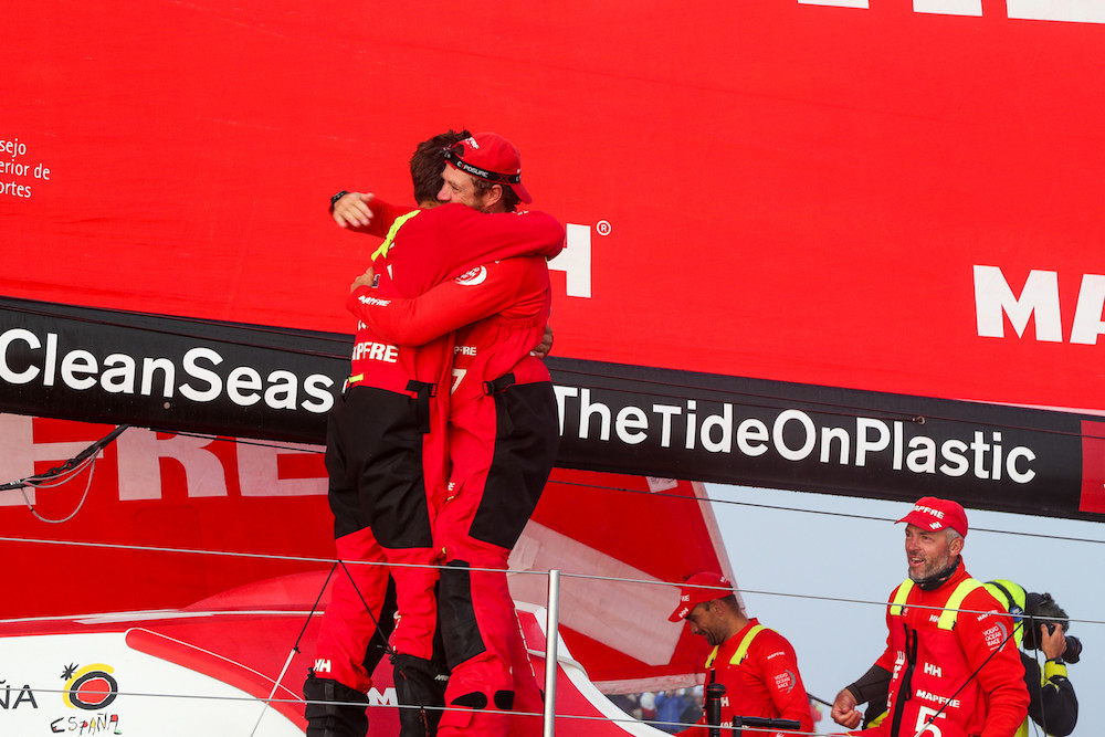 MAPFRE take a stunning win into Newport