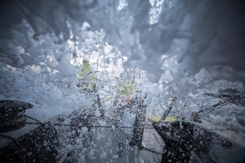 Record breaking conditions for Volvo Ocean Race fleet