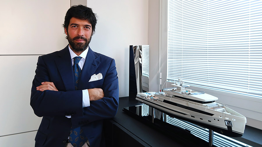 Andrea Giora joins Rosetti Superyachts as Sales Director