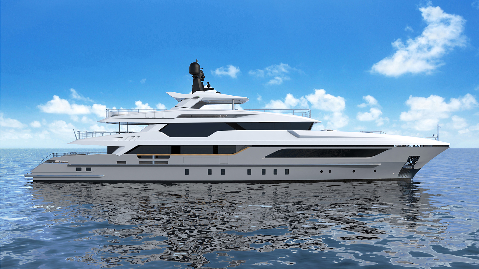 The launch of the Baglietto 48m is expected in July
