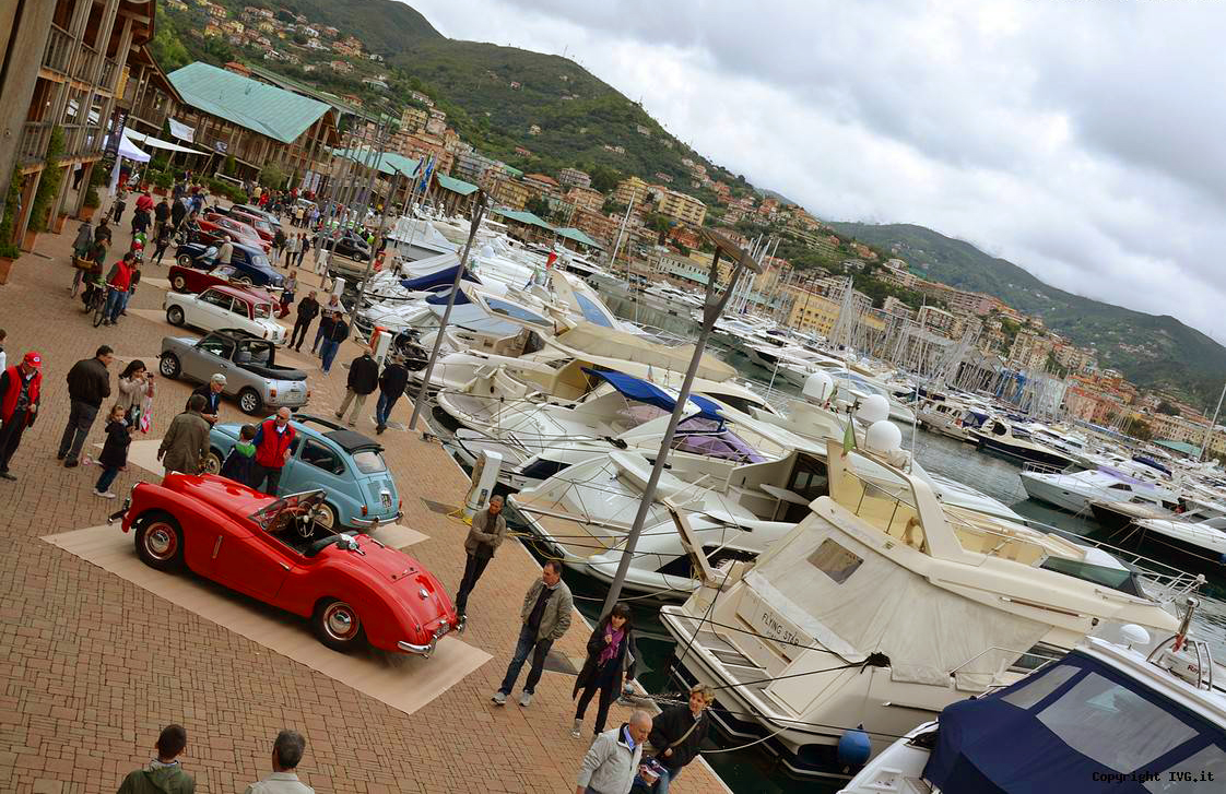 """First edition of """"Marina di Varazze Classic Cars"""", competition of elegance of vintage jewels – June 16th-17th, 2018"""