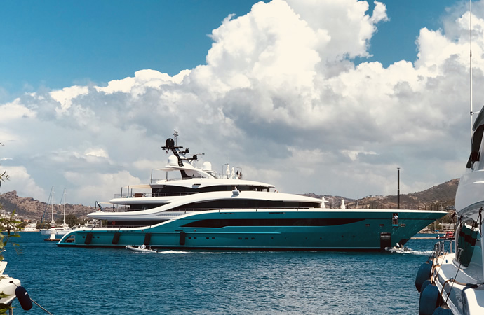 Turquoise's Flagship 77m GO delivered