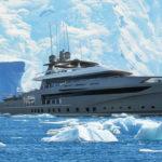 render OCEA 50 ghiacci