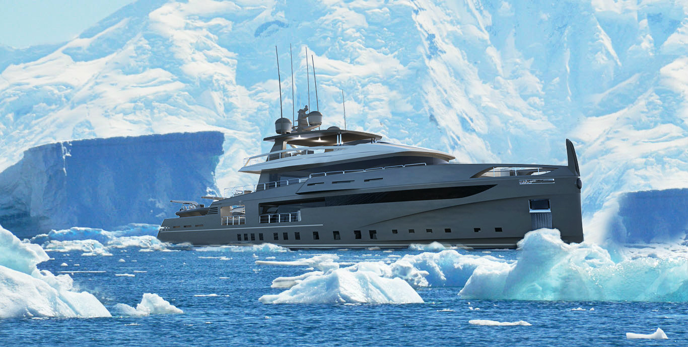 Ocea Nemo 50 ice, a yacht born to make a dream come true