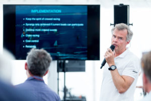 The Hague Stopover. Information session about IMOCA partnership at The Hague. 28 June, 2018.